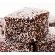 Aussie Lamingtons Recipe from The French Kitchen