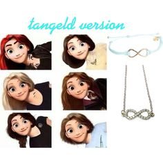 tangled version of: clary fray, idk, tris piror, hermione granger, katniss everdeen, and my fav hazel grace lancaster