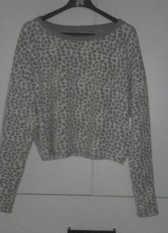 Kup mój przedmiot na #vintedpl http://www.vinted.pl/damska-odziez/bluzy-i-swetry-inne/16408306-bluza-crop-top-w-panterke