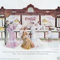 Original 1953 Coca-Cola Ink Blotter Superb Condition.