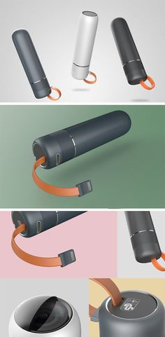 Ziran torches shows us what an easy transition it would be from pencil batteries to USB charging. Vacuum Cup, Presentation Layout, Home Cinemas, Bottle Design, Technology Gadgets, Minimalist Design, Flashlight, Industrial Design, Consumer Electronics
