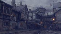 ArtStation - Victorian street W.I.P., Dmitry Kremiansky