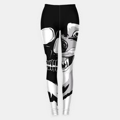 Lycanthrope Skull Leggings GET THIS using code: (code expires in 30 days) Skull Leggings, Unisex, Cool Stuff, Prints, Shopping