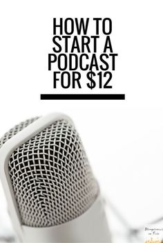 Yes! I have thought about starting a podcast and it seems so hard! This is a great guide to get me started!