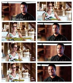 Arrow - Oliver and Felicity #3.5 #Season3 #Olicity <3