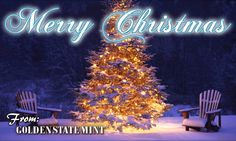 Golden State Mint would like to wish everyone a Merry Christmas!