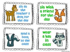camp classroom | Camping Classroom Theme / Forest Animal Privilege Coupons