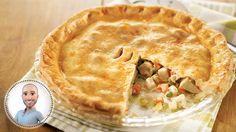Turkey pot pie by Stefano Faita Pie Recipes, Cooking Recipes, Confort Food, Cooking Turkey, Recipe Details, Pot Pie, Cooking Time, Food Processor Recipes, Stuffed Peppers