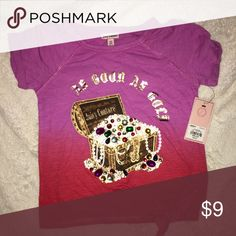 Girls juicy couture short sleeve jeweled tee sz XS Size XS 5/6. Juicy couture from Kohls. NWT Juicy Couture Shirts & Tops Tees - Short Sleeve