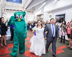 We celebrated a true first at The Container Store when we hosted a perfectly organized wedding!