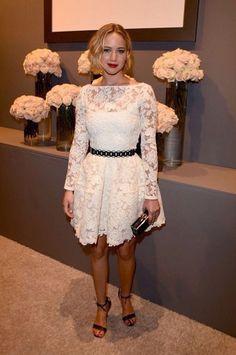 dress white white dress formal dress homecoming dress white lace dress