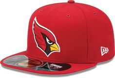 8dee084e9d5 NFL Arizona Cardinals On Field 5950 Game Cap Cardinal Red 6 12 Youth     Click image for more details.
