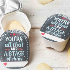 Chip Stack Valentine for Pringles snack packs printable diy Valentine's day treat Kinder Valentines, Valentines Day Treats, Valentine Day Crafts, Be My Valentine, Valentine Party, Homemade Valentines, Valentine Gifts For Teachers, Printable Valentine, Preschool Valentine Ideas