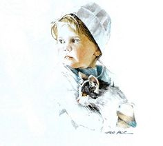 """""""Millie"""" by Nancy Noel (American)"""