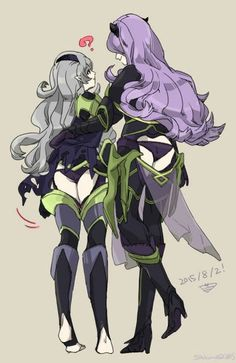 Corrin and Camilla matching armor