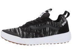 11d4771286d4 Vans UltraRange Women s Skate Shoes Cardi Knit Black Skate Shoes