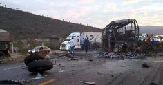 #DESTACADAS:  Mueren 7 personas en carreterazo en Tamaulipas - El Mañana de Reynosa
