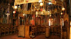 Giorno#7 - Interno della chiesa – monastero Megalo Meteoro #Meteora