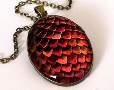 Game of thrones Dragon's egg Big Necklace,0484OPB from EgginEgg by DaWanda.com