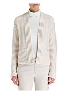 nice knit, nice jacket