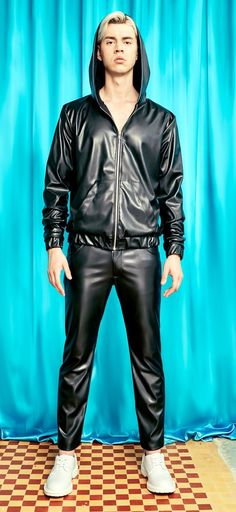 Mens Leather Pants, Confident, Guys, Face, How To Wear, Jackets, Outfits, Shopping, Fashion
