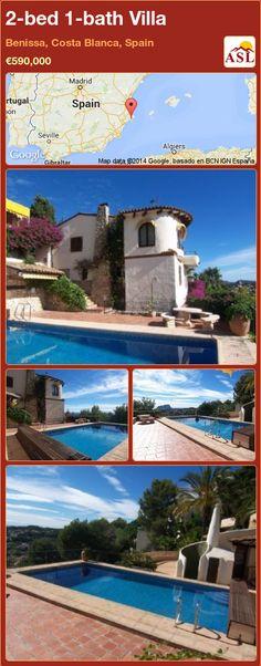 2-bed 1-bath Villa in Benissa, Costa Blanca, Spain ►€590,000 #PropertyForSaleInSpain