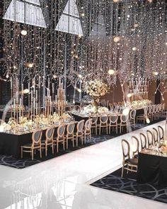 Wedding Lighting Ideas for Rustic Country Wedding Reception dream wedding ideas 20 Creative Ideas for Wedding Reception Lighting Magical Wedding, Glamorous Wedding, Perfect Wedding, Dream Wedding, Wedding Day, Wedding White, Wedding Events, New Years Wedding, Great Gatsby Wedding