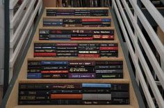 This book staircase.