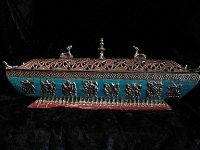 incense burner w/turquoise and coral inlay - wide selection of burners
