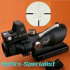 ﹩198.99. Trijicon ACOG 4X32 TA31 BDC RMR RED DOT CLONE GREEN FIBER SCOPE USA-STOCK2  Maximum Magnification - 4X, Color - Black, Lens Diameter - 32mm, Reticle - Illuminated, Max Magnification - 4X,