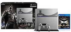 Sony PlayStation 4 Batman: Arkham Knight Limited Edition Bundle 500 GB Steel Gre #Sony