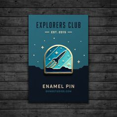 Explorers Club: Rocketeer Enamel Pin by dkngstudios on Etsy@ møe 🌞⛅🌟 fσℓℓσω мє for more! Be Wolf, Jacket Pins, Cool Pins, Metal Pins, Pin And Patches, Stickers, Up Girl, Pin Badges, Lapel Pins