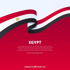 Egypt flag in ribbon shape Free Vector Egyptian Flag, Egypt Map, Gold Photo Frames, Map Marker, Flag Background, Vector Background, Location Icon, Colour Architecture, Women Lawyer