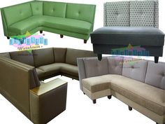 Custom Home Corner Residential Commercial Dining Booth Banquette USA Kitchen