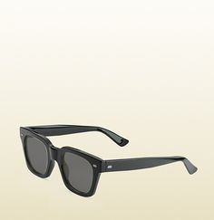 havana acetate square-frame sunglasses