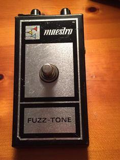 Maestro Fuzz-Tone FZ-1B!
