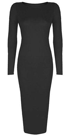 2ee98817b14 RIDDLED WITH STYLE Women's Long Sleeve Midi Dress Ladies Midi dress Fancy  Dress #dress #