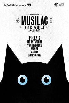 Festival Musilac à Aix Les Bains programmation 2017 Die Antwoord, Festival Logo, Festival Posters, The Lumineers, Hospital Design, Design Research, Concept Art, Typography, Graphic Design