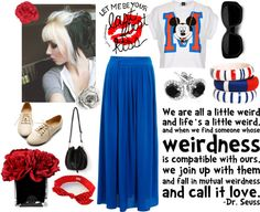 """""""Weirdness"""" by jaida99 ❤ liked on Polyvore"""