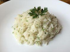 Receta de Arroz al limón con cilantro