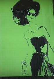 illustration by the extremely talented David Downton