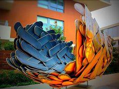 #Skateboard #sculpture