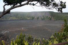 Kilauea Iki Crater from Pu'u Puai Overlook, Big Island, HI (July 21, 2008)
