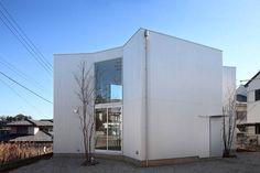 Wohncontainer von Kentaro Yamazaki, Fassade