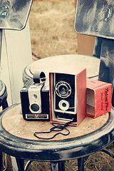 Vintage cameras from The Vintage Whites Market! www.thevintagewhitesmarket.com