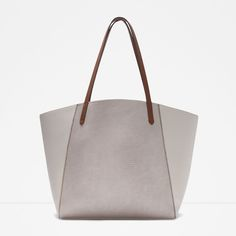 COMBINED TOTE-View all-Bags-WOMAN | ZARA United States