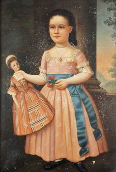 It's About Time: 19C American girls with dolls