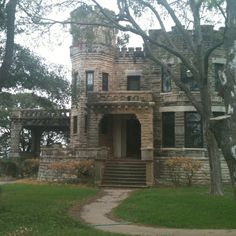 The 100-year-old Cottonland Castle in Waco.