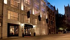 Le Saint-Sulpice Montreal: This lovely all-suite hotel is in the shadow of Montreal's historic Notre-Dame Basilica.