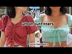 THRIFT FLIP / DIY Urban Outfitters Challenge (ft. Caitlín Kleineberg) ✨ - YouTube Diy Fashion Hacks, Fashion Ideas, Fashion Tips, Skirt Co Ord, Co Ord Sets, Blue Butterfly, Flipping, Diy Clothes, Thrifting
